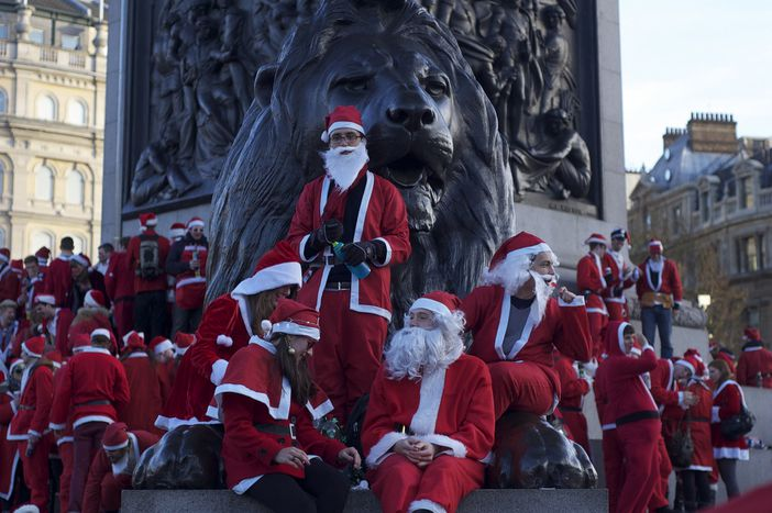 Image for London: 'Tis the Season to Be Jolly...