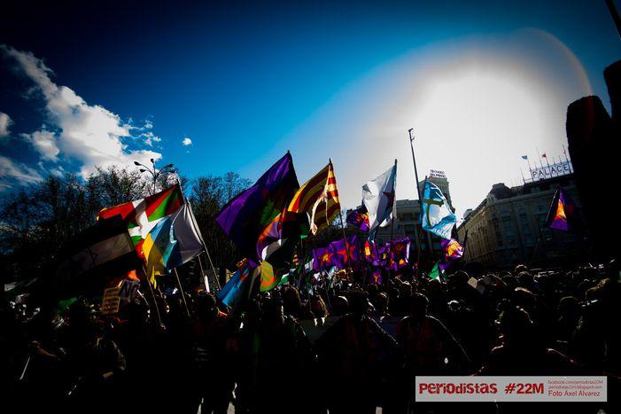 Image for Gli spagnoli in Marcia per la Dignità