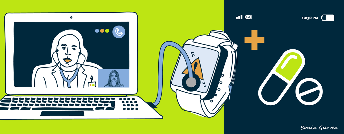 Image for Smartphones and smartwatches: the medical tools of the future?