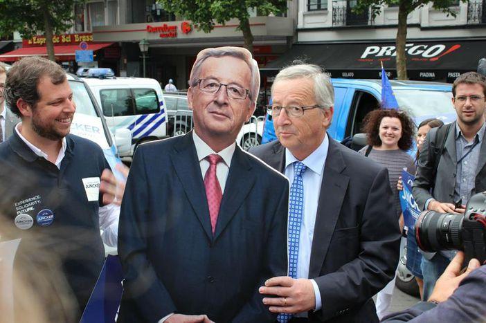 Image for Européennes : Juncker se voit-il trop beau ?