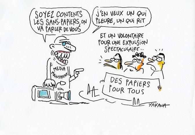 Image for Débat Cafébabel Bruxelles :«Médias et sans-papiers, une parole confisquée?»