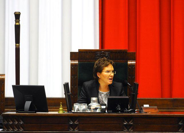 Image for Wszystkie światła na Ewę Kopacz