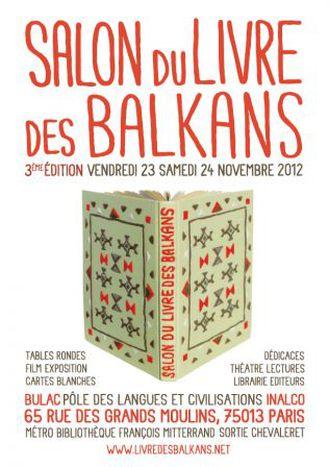 Image for Les Balkans autrement - 3e salon du Livres des Balkans du 23 au 24 novembre.