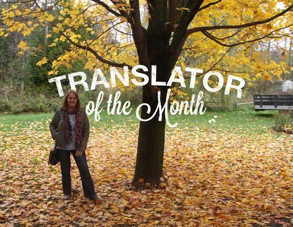 Image for La traductrice du mois d'avril