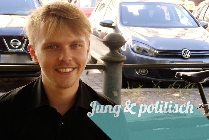Image for Jens Parker: Jung, grün, stachelig
