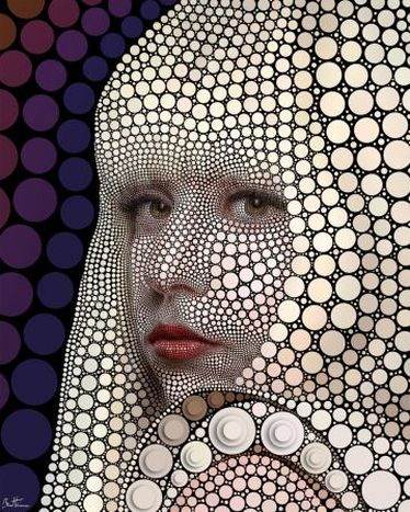Image for Lady Gaga by Ben Heine