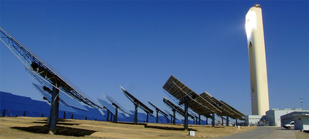 Image for Seville's photovoltaic energy, as invented by Archimedes