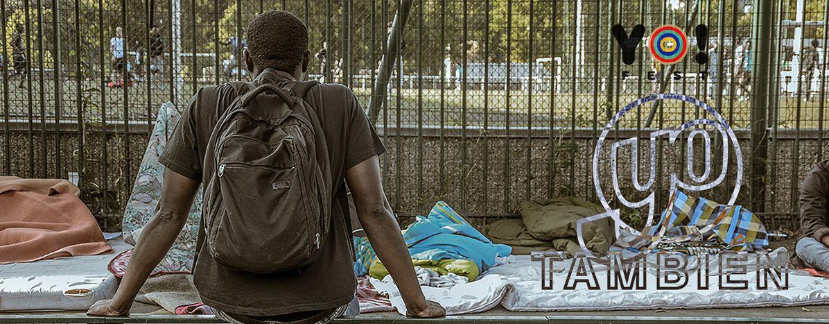 Image for Réfugiés : ma journée dans les campements parisiens