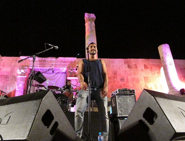 Image for Concert review: Mashrou' Leila rock stage in Amman with pro-gay songs