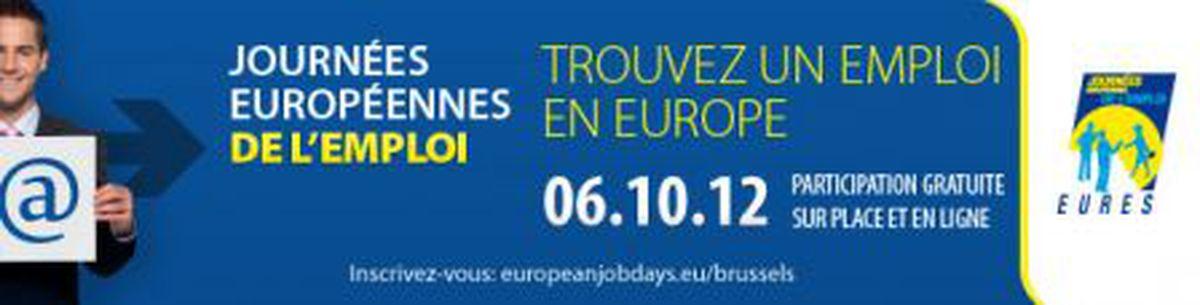 Image for Vous êtes à la recherche d'un emploi en Europe?