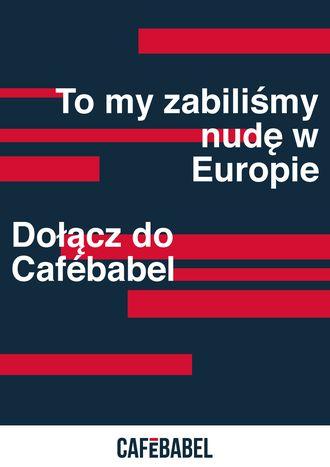 Image for Jack Nicholson* pisze dla Cafébabel!