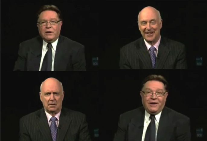 Image for Satirists Clark and Dawe take on eurozone crisis - in 2 minutes 35