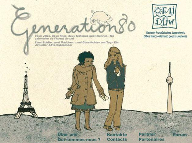 Image for Génération 80 : en bisbille avec Paris