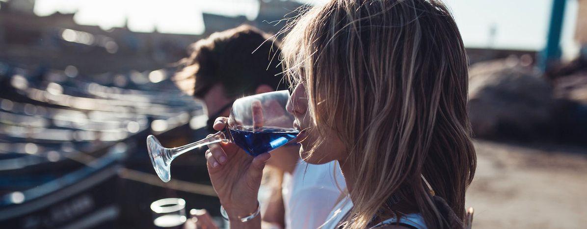 Image for Vino blu:stiamo scherzando, vero?