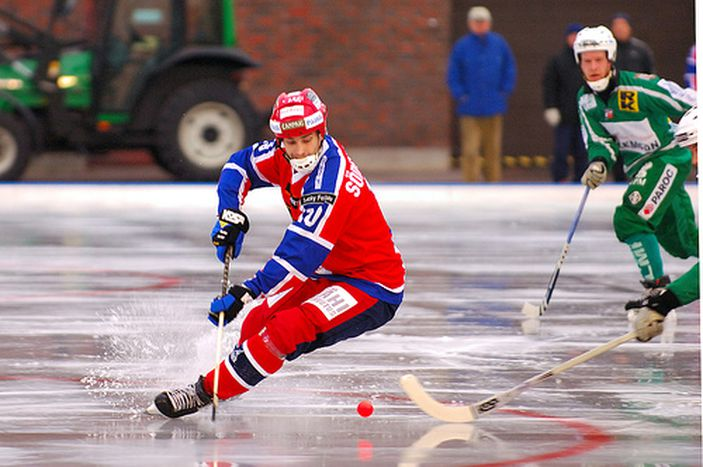 Image for Bandy : le hockey sur glace suédois