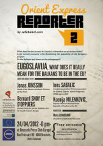 Image for EUGOSLAVIJA - What does it really mean for the Balkans to be in the EU? Eine Babel-Diskussion in Brüssel
