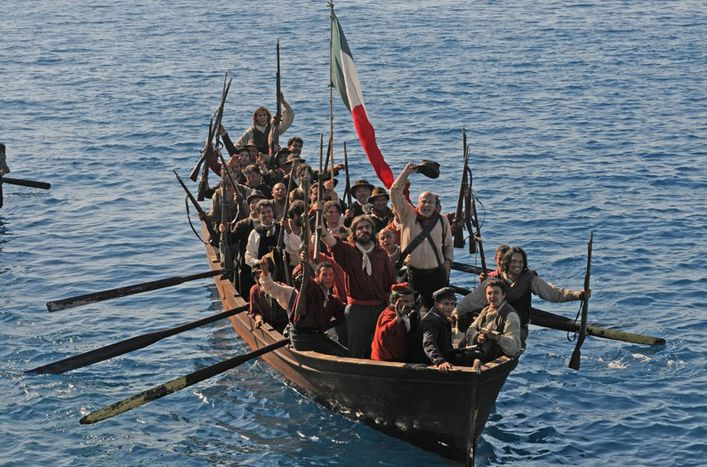Image for Cinéma italien : Garibaldi et ses Mille revivent 150 ans après