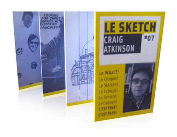 Image for Le Sketch: 10 free signed by Craig Atkinson: fast fast fast furious!
