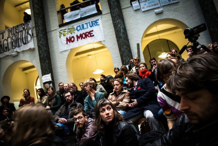 Image for En el corazón de la ocupación estudiantil deÁmsterdam