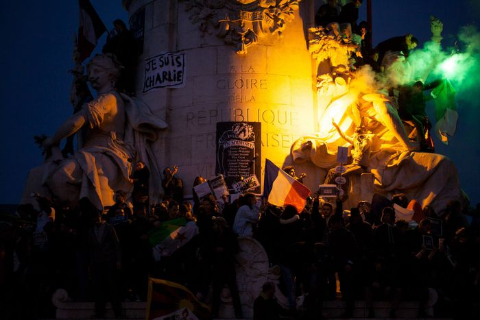 Image for #JeSuisCharlie Rally: The New French Revolution?