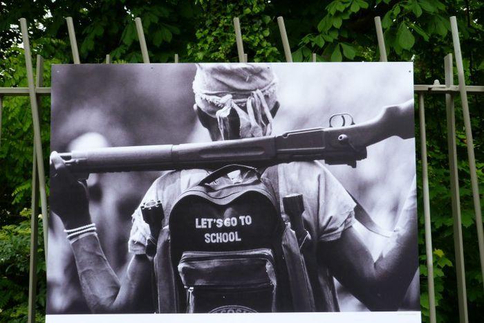 Image for «MAKING PEACE», UNE EXPOSITION QUI SOUHAITE ENGAGER LE DÉBAT AVEC LES CITOYENS
