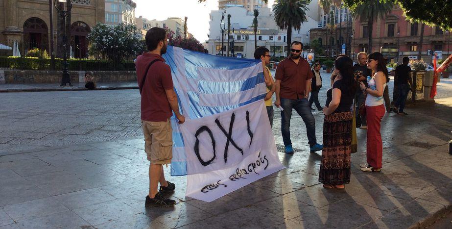 Image for Crisi greca, la solidarietà della comunitàTrinacria in Sicilia