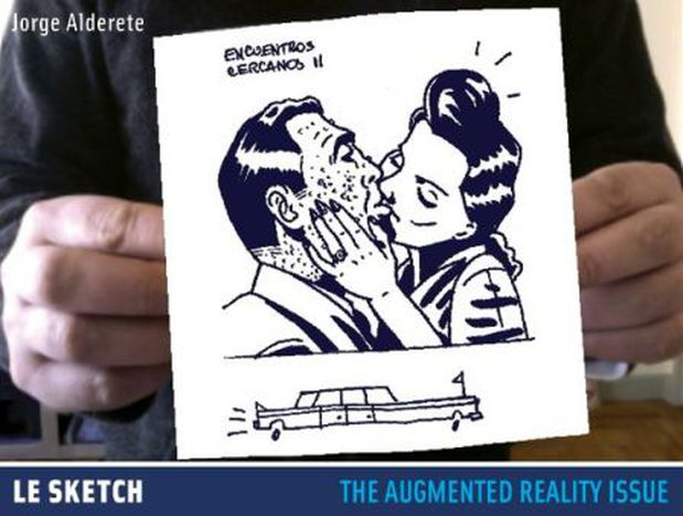 Image for Le Sketch #10 goes into augmented reality comics!