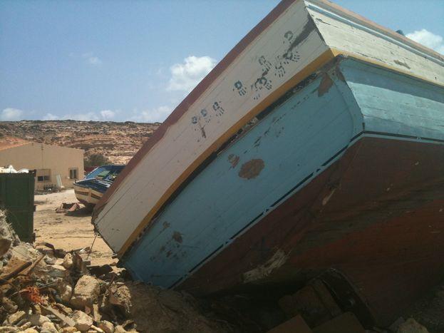Image for Lampedusa y la dura ley del mediterráneo