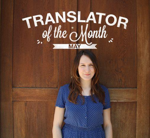 Image for Übersetzerin des Monats Mai