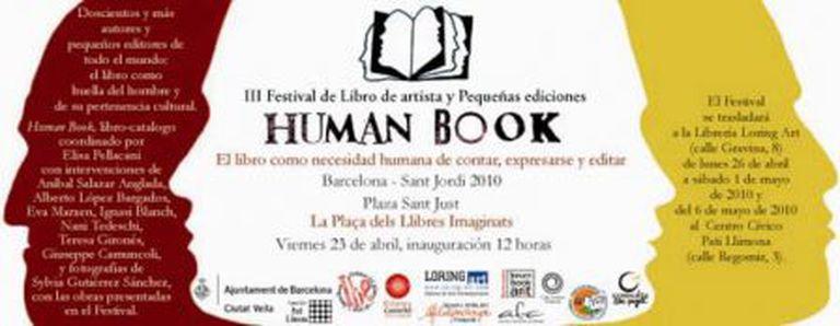 Image for HUMAN BOOK a Barcellona: III Festival del libro d'artista e delle piccole edizioni