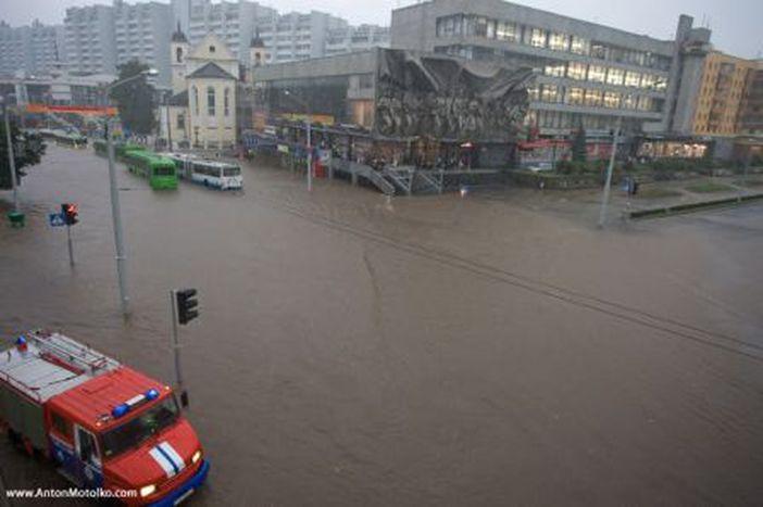 Image for floods:Venice in Minsk