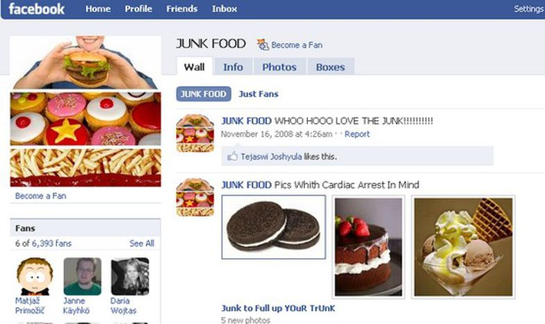 Image for Facebook 'foodie' groups versus the credit crunch