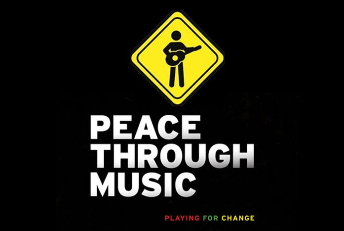 Image for Playing for Change:COMEpromUoVeRE LA pace ATTRAVERSO LAmusicA