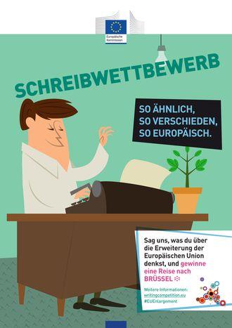 """Image for Schreibwettbewerb """"So ähnlich, so verschieden, so europäisch"""" in den Startlöchern"""