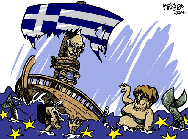 Image for Papandreu, Grecia y el euro: ¿Referéndum sí o referéndum no?