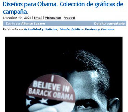 Image for Obamas Sieg rockt europäische Blogs