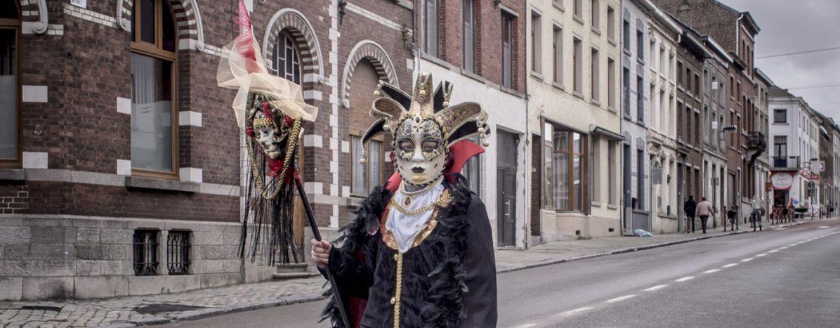 Image for Binche: la follia delcarnevale più famosodel Belgio