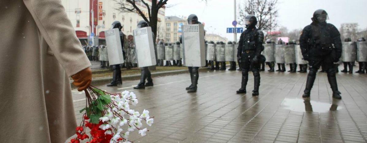 Image for Białoruś: milicyjna przemoc na Dzień Wolności