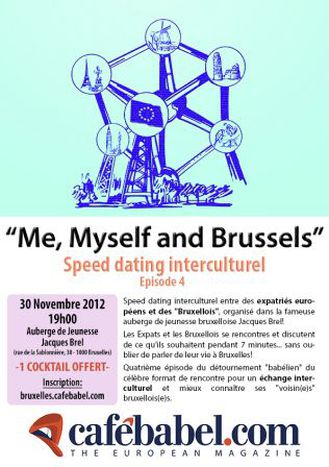 """Image for """"Me, Myself and Brussels"""" // Speed dating interculturel // Acte 4"""