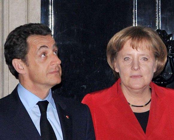 Image for Sarkozy et Merkel : les retrouvailles