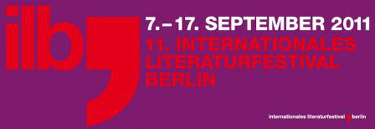 Image for ilb - 11. Internationales Literaturfestival Berlin vom 7.-17. September 2011