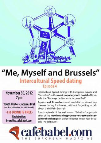 Image for «Me, Myself and Brussels»  Intercultural speed dating // Act 4