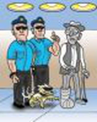 Image for Seguridad en los aeropuertos: embarcados en una farsa