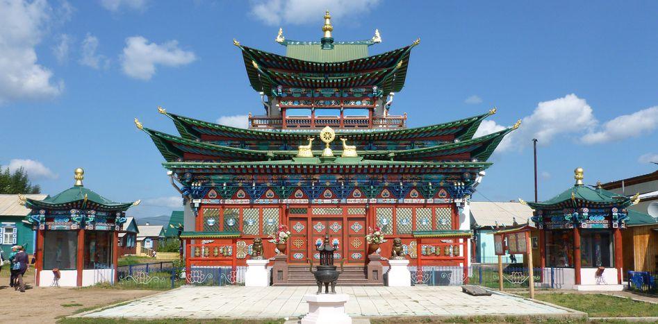 Image for La Sibérie des bouddhistes : l'autre esprit de la Russie