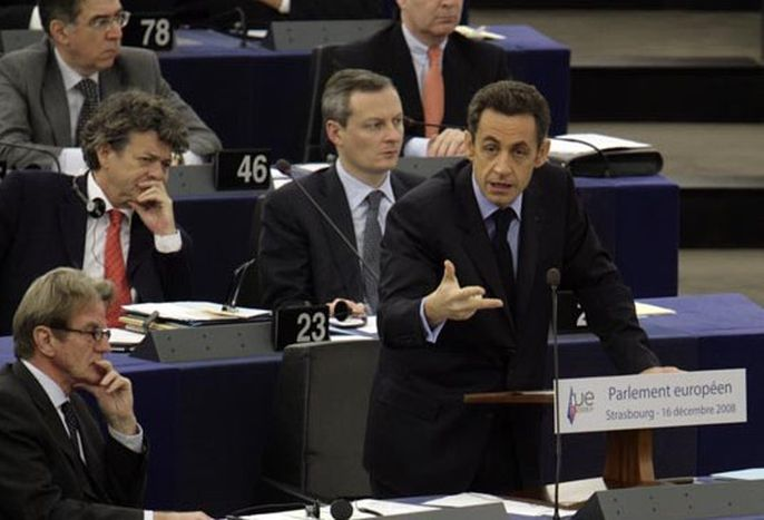 Image for Fine della Presidenza francese dell'Ue: Sarkozy contro il Parlamento europeo