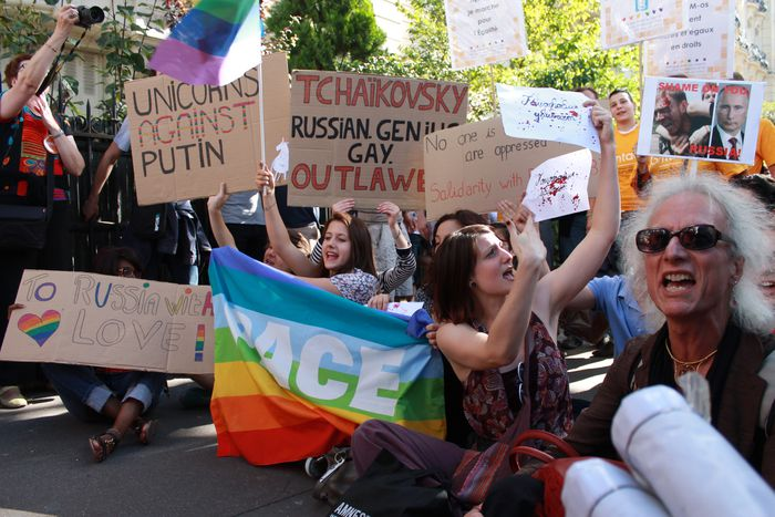 Image for To LGBT Russia with love: Put-in respect
