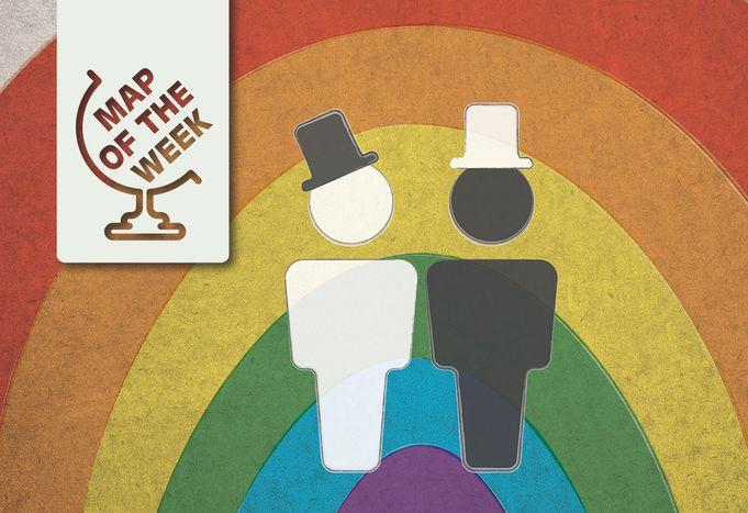 Image for Carte de la semaine : le mariage gay en Europe