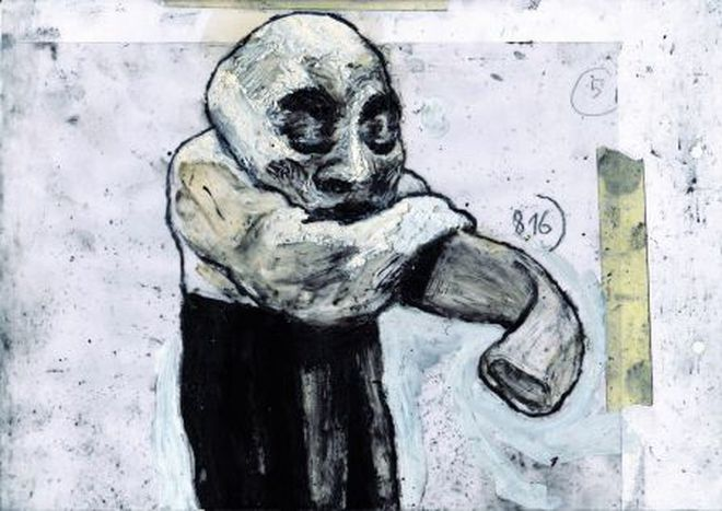 Image for Stefano Ricci exhibition in Bologna: Febbre suina, Gallina evasa