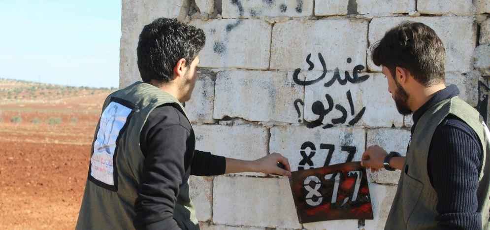 Image for Una radio libera tra Berlino e la Siria