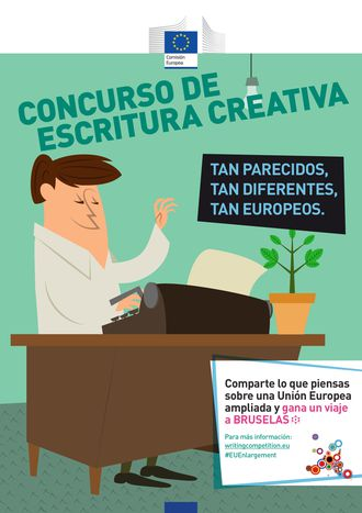 """Image for Lanzamiento del concurso de escritura: """"Tan parecidos, tan diferentes, tan europeos"""""""